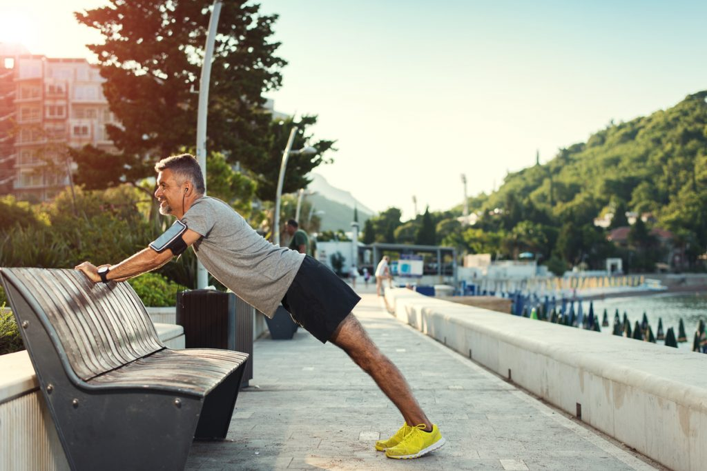 fitness tips for men in their 40s