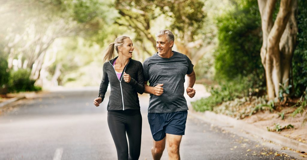 Benefits of Exercise for Middle-Aged Men